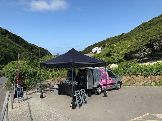 Trebarwith Strand, UK: The Coffee Cup Cornwall