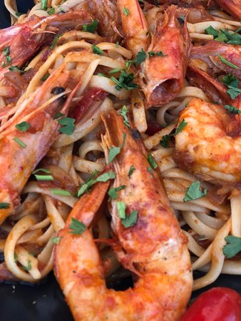 One of the best!!!! Delicious seafood pasta....