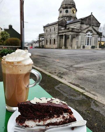 An Lar Cafe: chocolate 🍫 vegan cake! ☀️ in Dunlavin