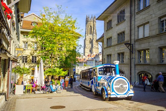 The Little Train of Fribourg