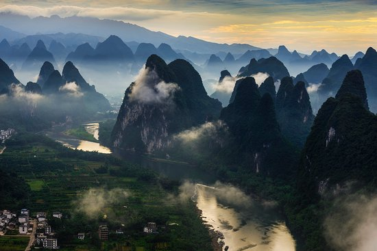 Гуанси, Китай: Li River