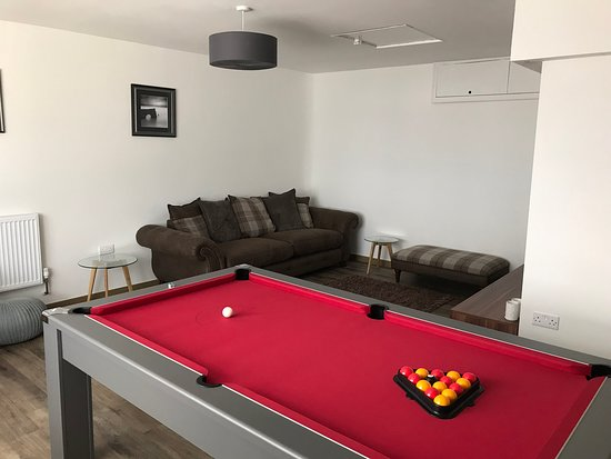 Upton Cross, UK: Games Room for hours of fun