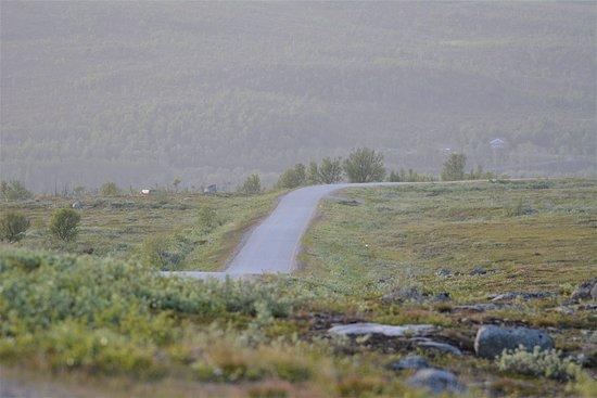 Nuorgamin Pulmankijärven tunturitie on näkemisen arvoinen !