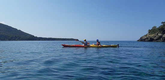 Half-Day Sea Kayaking Activity in Stoupa and Kardamili Resmi
