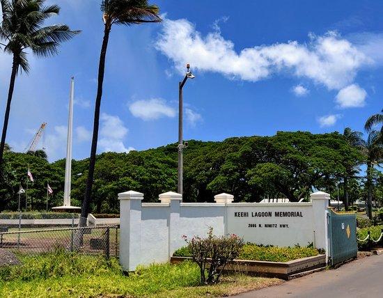 Ke'ehi Lagoon Memorial
