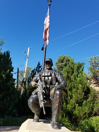 The monument - Picture of Danny Dietz Memorial, Littleton