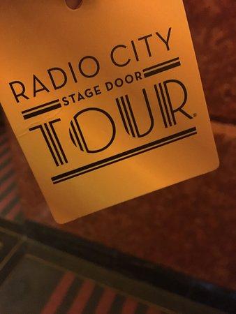 Radio City Music Hall Stage Door Tour New York City Updated 2019