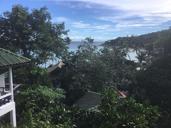 Three Trees Samui Resort: View from the restaurant