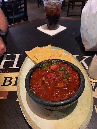 Carlos'n Charlie's Las Vegas: Great salsa
