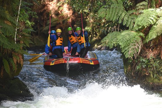 Foto White Water Rafting in Kaituna River