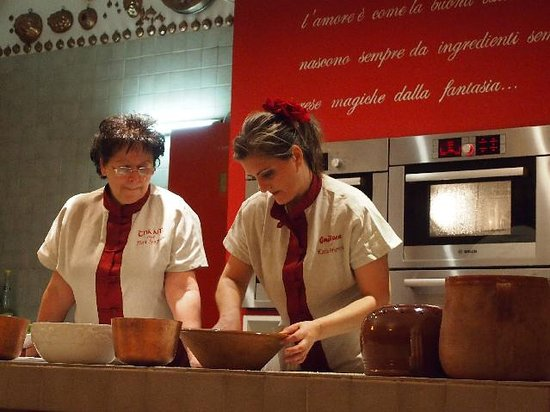 Katia Abrignani, laboratorio di cucina Torino