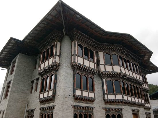 Bumthang District, Bhutan: Hotel Building
