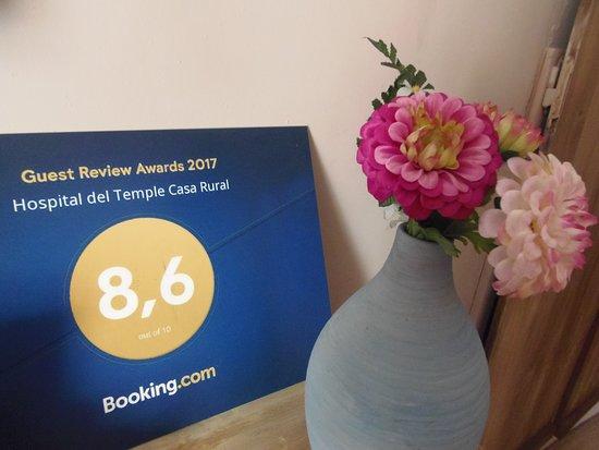 Boquineni, إسبانيا: El premio de Booking es la recompensa a nuestro esfuerzo diario