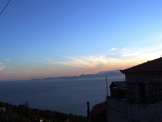Spatharaioi, Hellas: sunset