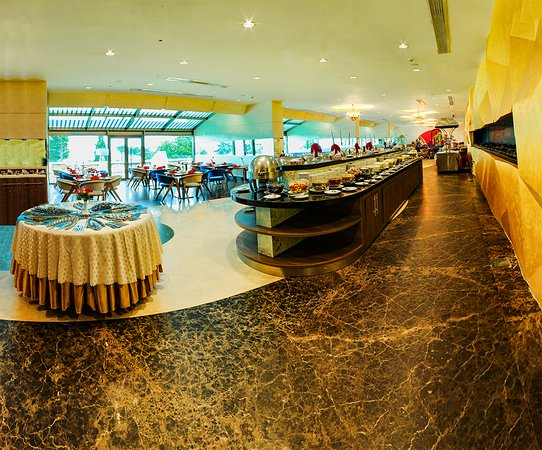 Morvarid Khazar Hotel: Restaurant Parse