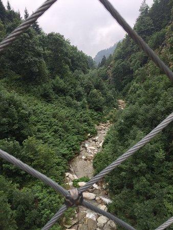 Ponte Tibetano di Becetto照片