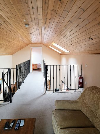 Bodyke, ไอร์แลนด์: Upstairs living area