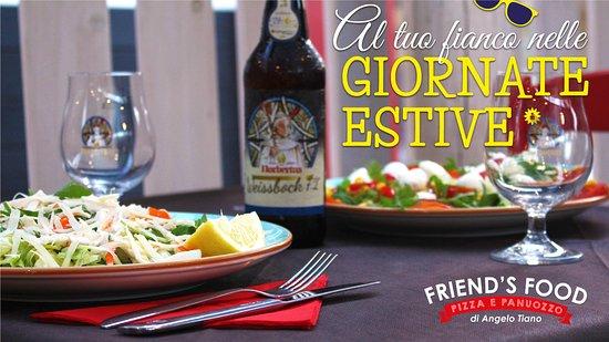 Friend'S Food: Trascorri le tue giornate estive in spiaggia 🏖 e dopo passa a tavola 🍽 da Friend's Food per deliziarti con le nostre specialità.😋  ⚠ Resteremo aperti tutto il mese di #Agosto per te! 😍