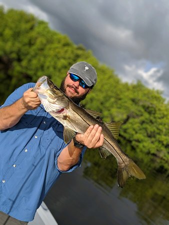 Inshore Excursions LLC: First snook of the day!