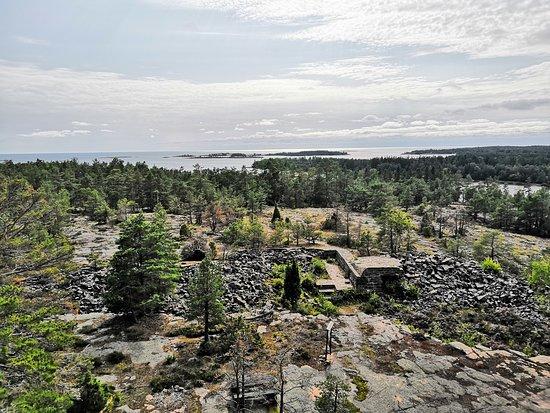 Gottby, Finland: Kungsö Batteri näköalatornista