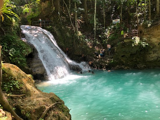 Blue hole in Ocho Rios 🏊🏼♂️  Easy Vibes Exclusive Tours
