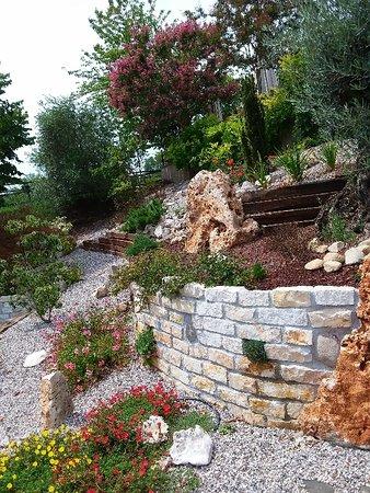 Mirabello, Italia: giardino
