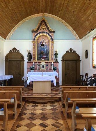 Stalden, Szwajcaria: Altar in der Kapelle von Schwendi Kaltbad