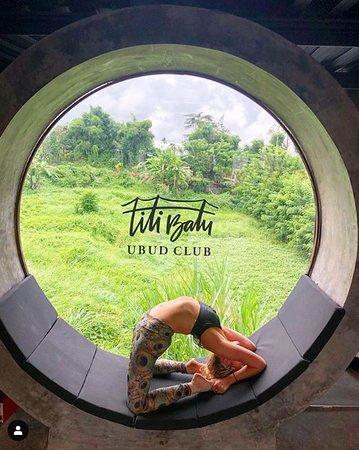 A view from the gym inside Titi Batu