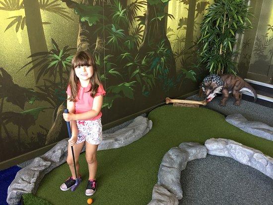 Dino Mini Golf
