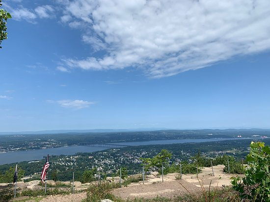 View of the Hudson from Mt Beacon