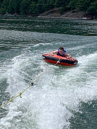 Glenville, NC: Tubing is an absolute blast; water is warm; scenery is like no other east of the Mississippi.