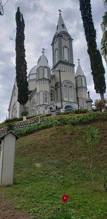 Sao Pedro de Alcantara, SC: Igreja matriz de São Pedro de Alcântara
