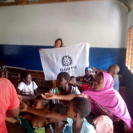Funzi Island, Kenya: School funzi