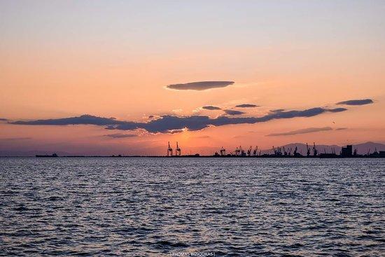 Salónica, Grecia: Thessaloniki's sunset