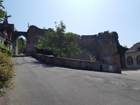Ruines de l'ancien château