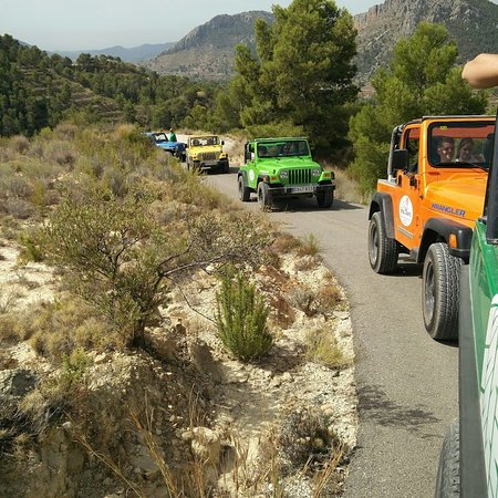 Jeep Tours & Safaris Costa Blanca Spain