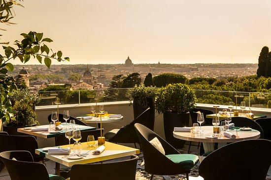 Settimo Roman Cuisine Terrace Rome