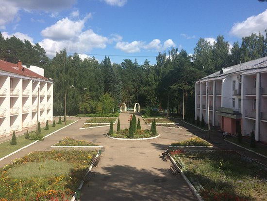 Krasny Bor, Russland: территория санаторий