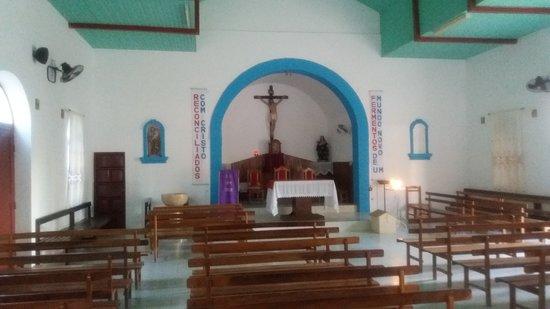 kostel v Santa Maria interiér, hlavní oltář