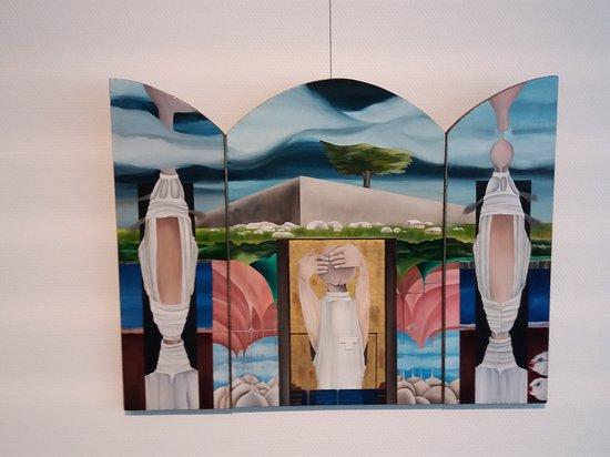 Noord Veluws Museum: Werk van Gaby.