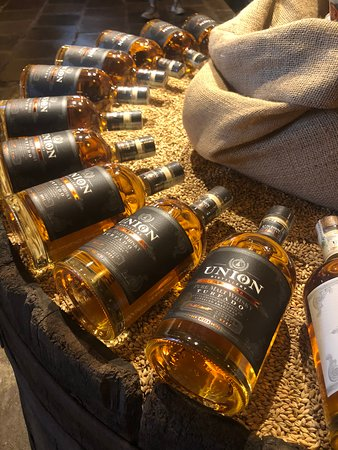 Union Distillery Maltwhisky do Brasil: Turfado