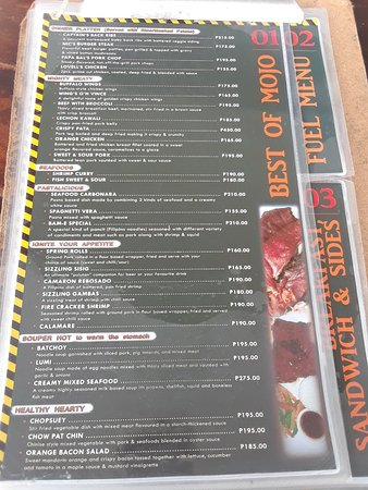 Danao City, Filippine: FUEL - Fushion Kitchen + Bar