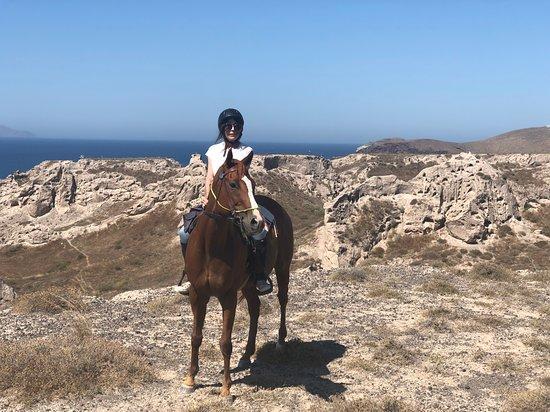 Foto Santorini:Traditional wine village Horse riding tour