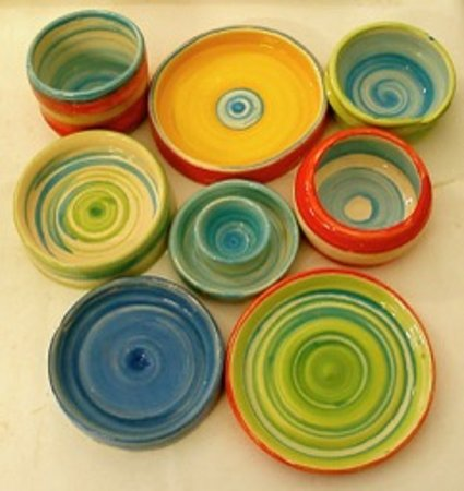 Market Lavington, UK: Come and have a go at throwing a pot on the potter's wheel. 1:1  guided session with your own personal tutor for the whole session . From half hour £25 includes thrown pot which is fired and glazed for you.