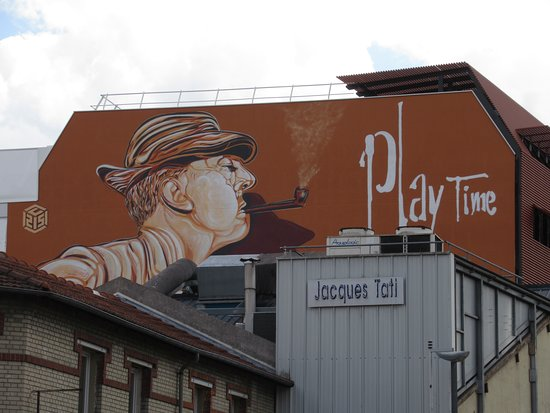 "Fresque ""Play Time"""