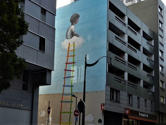 "Fresque ""The Ladder"""