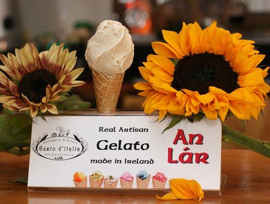 Dunlavin, אירלנד: Sunflower Gelato 🍦😋 from Gusto d'Italia