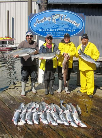 Angling Unlimited: One days catch with Angling Unlimited.