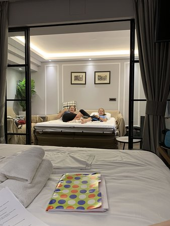 View of sleeper sofa from main bedroom (apartment) - Picture ...