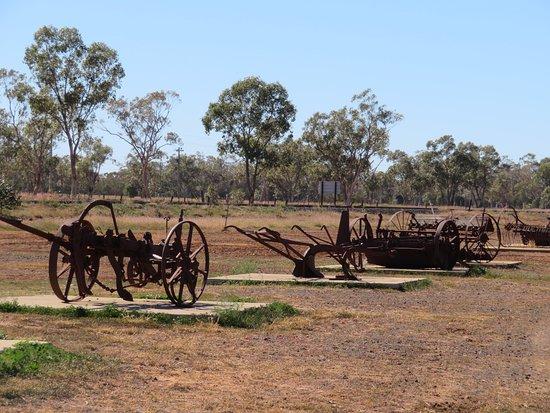 Morven, Австралия: Harvest Equipment